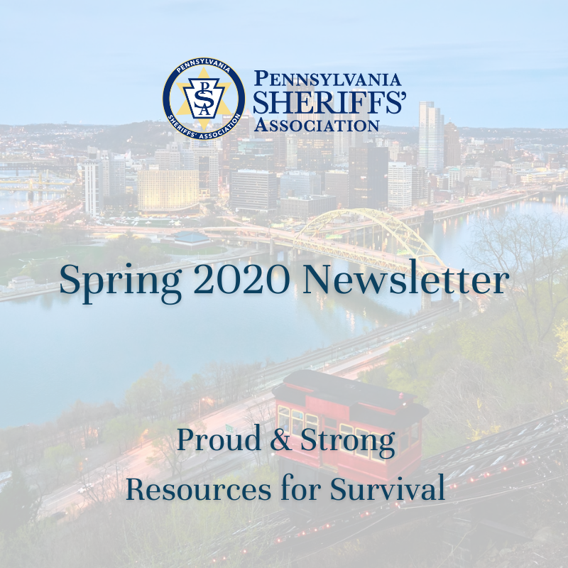 Spring 2020 Newsletter